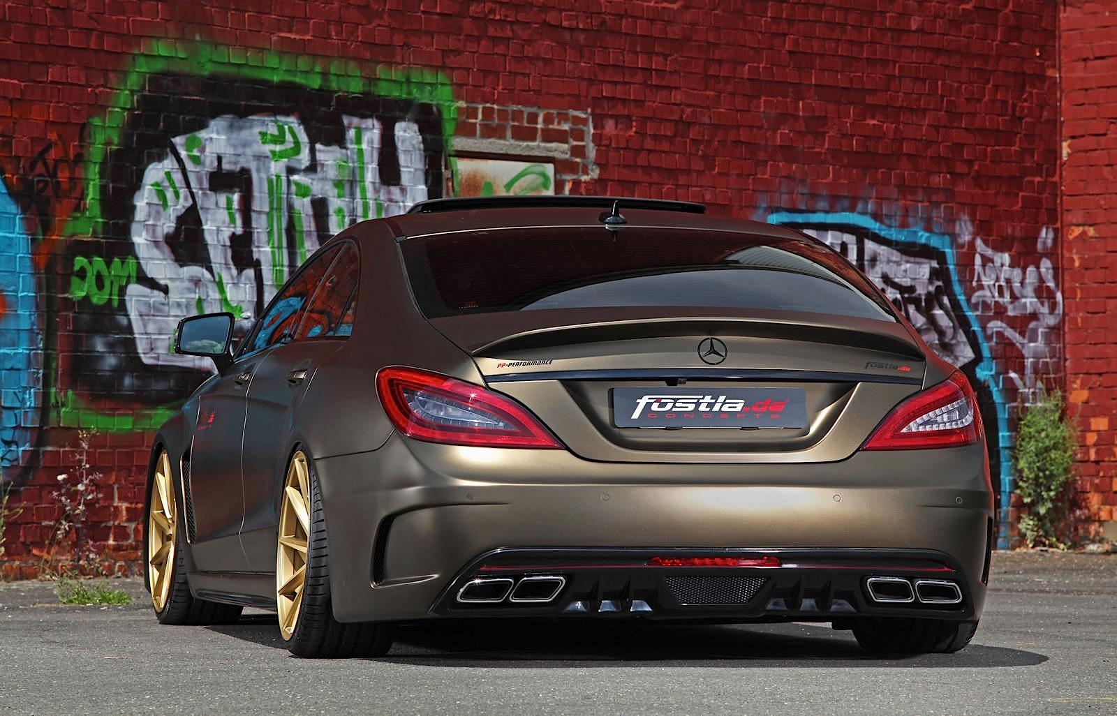 Slammed Mercedes Benz Cls 350 Cdi By Fostla Performancedrive