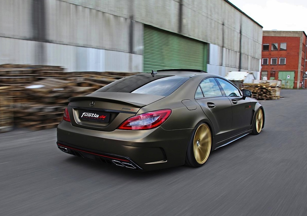 Slammed Mercedes Benz Cls 350 Cdi By Fostla Performancedrive