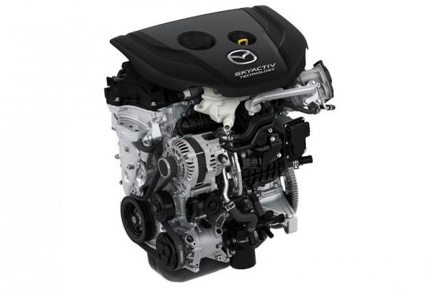 Mazda SkyActiv-D 1.5 TD engine