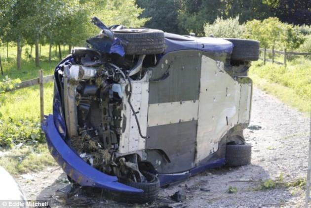 McLaren 650S crash-2