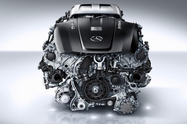 Mercedes-AMG GT 4.0TT V8 engine