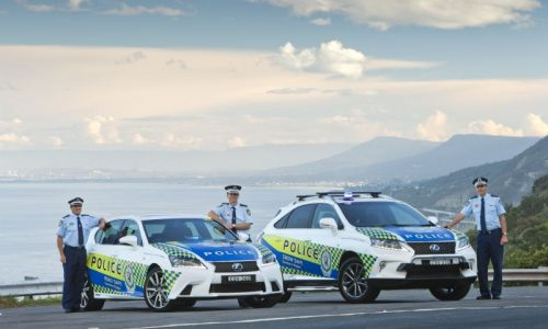 Lexus GS 450h & RX 450h join NSW Police force