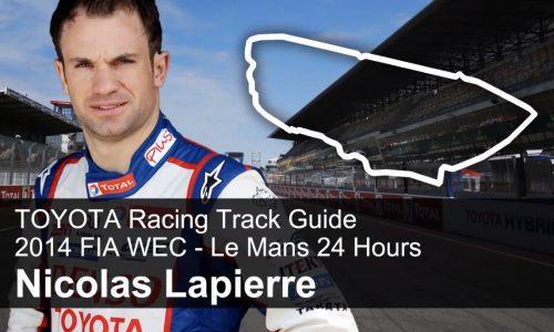 Toyota Racing Nicolas Lapierre outlines Le Mans circuit