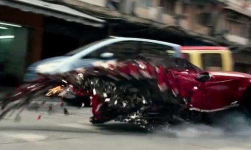 Pagani Huayra featured in Transformers: Age of Extinction