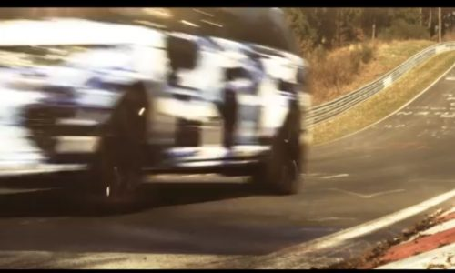 Video: Range Rover Sport 'RS' previewed at the Nurburgring