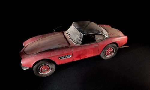 1957 BMW 507 owned by Elvis being restored by BMW