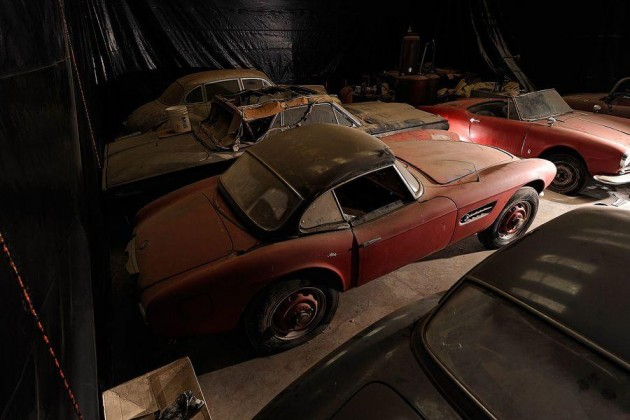 1957 BMW 570 owned by Elvis Presley-shed
