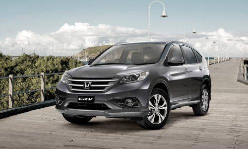 Limited edition Honda CR-V VTi Plus now on sale