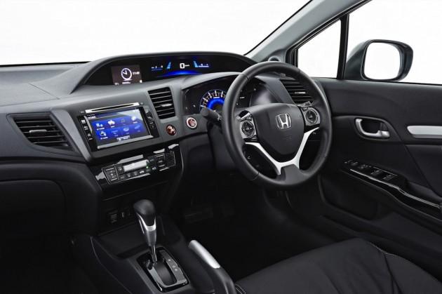 2014 Honda Civic Sedan interior