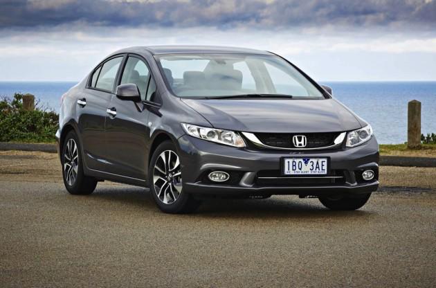 2014 Honda Civic sedan front exterior
