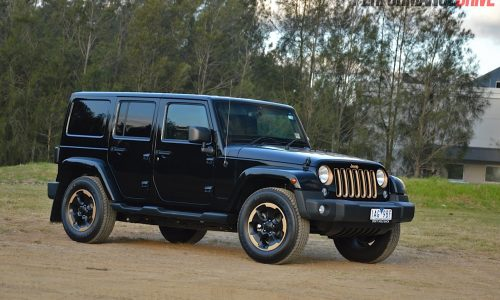 Jeep Wrangler Dragon Edition review (video)