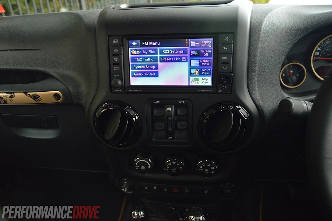 Jeep Wrangler Dragon Edition Review Video Performancedrive Diagrams School Of Motoring 2014 Uconnect Touch Screen