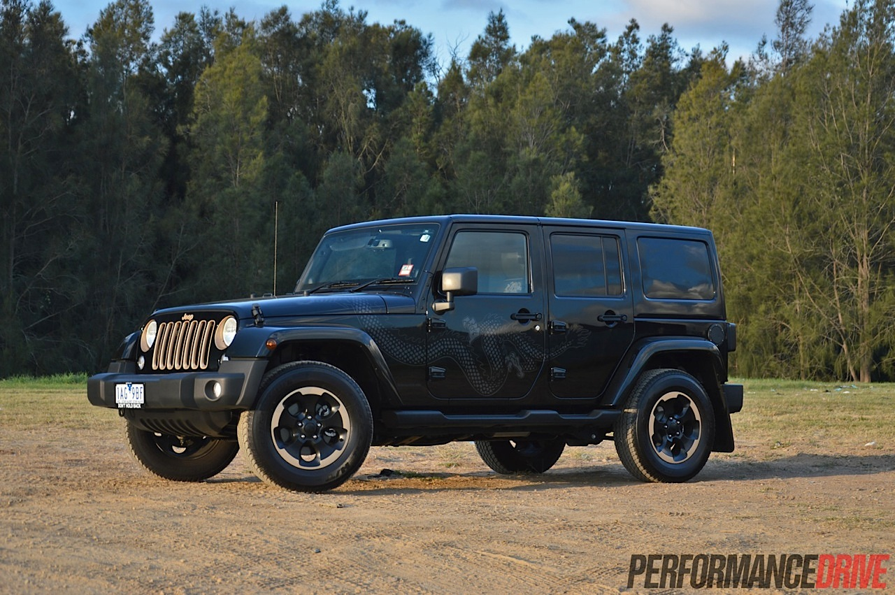 Jeep Wrangler Dragon Edition review (video) | PerformanceDrive