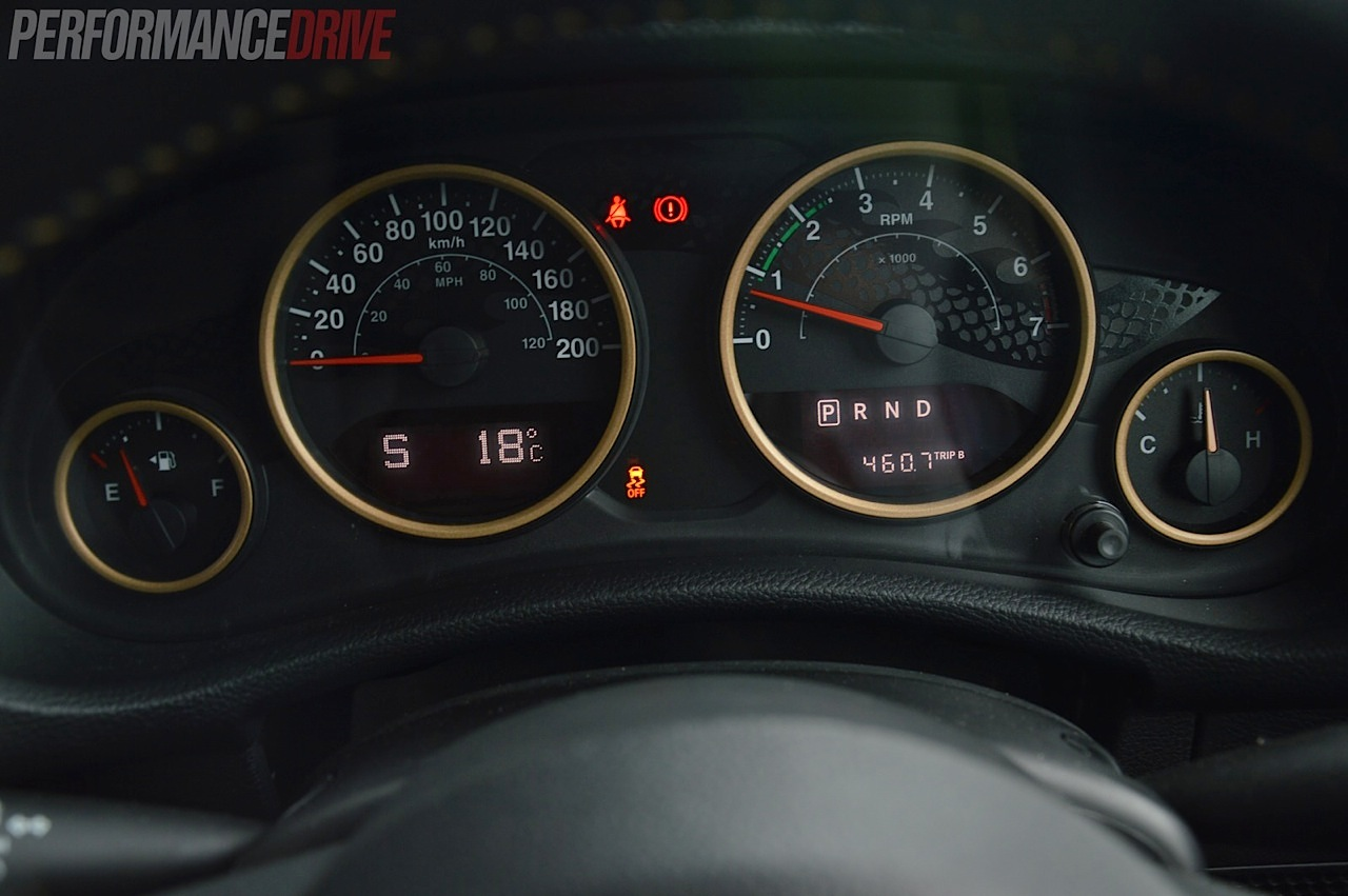 Jeep Wrangler Dragon Edition Review Video Performancedrive Diagrams School Of Motoring 2014 Instrument Cluster