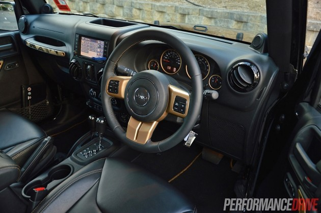 2014 Jeep Wrangler Dragon-interior