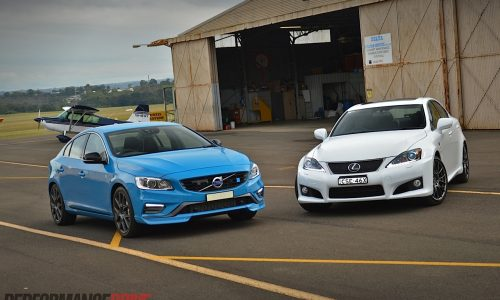 Volvo S60 Polestar vs Lexus IS F: comparison review (video)