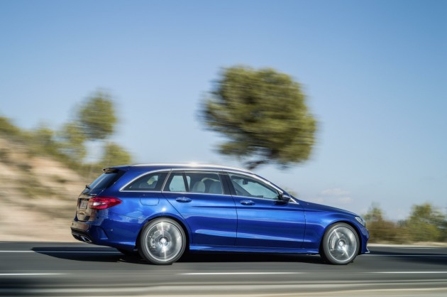 2014 Mercedes-Benz C-Class Estate-rear