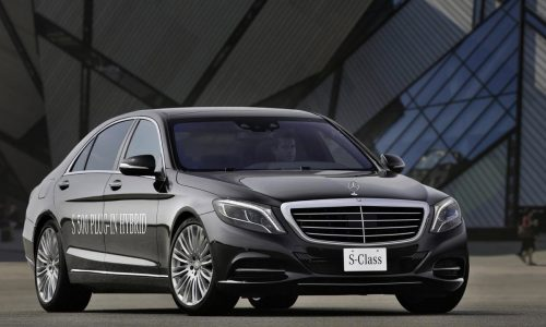Mercedes-Benz S 500 Plug-In Hybrid offers 325kW, 2.8L/100km