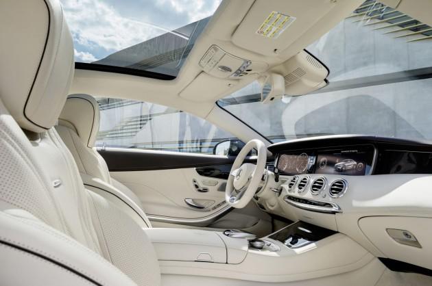 2014 Mercedes-Benz S 65 AMG Coupe-interior