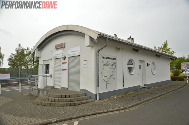 2014 Nurburgring Nordschleife-ticket booth