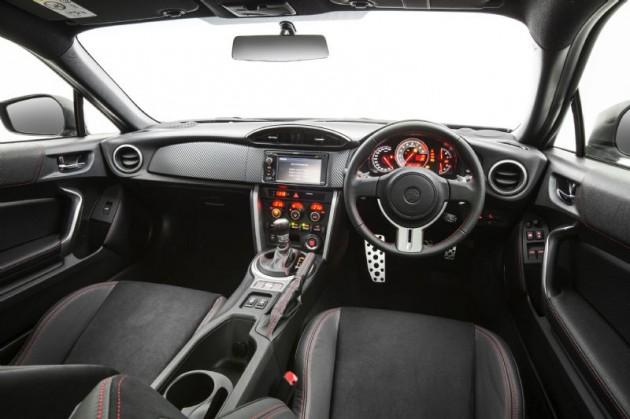 2014 Toyota 86 GTS interior