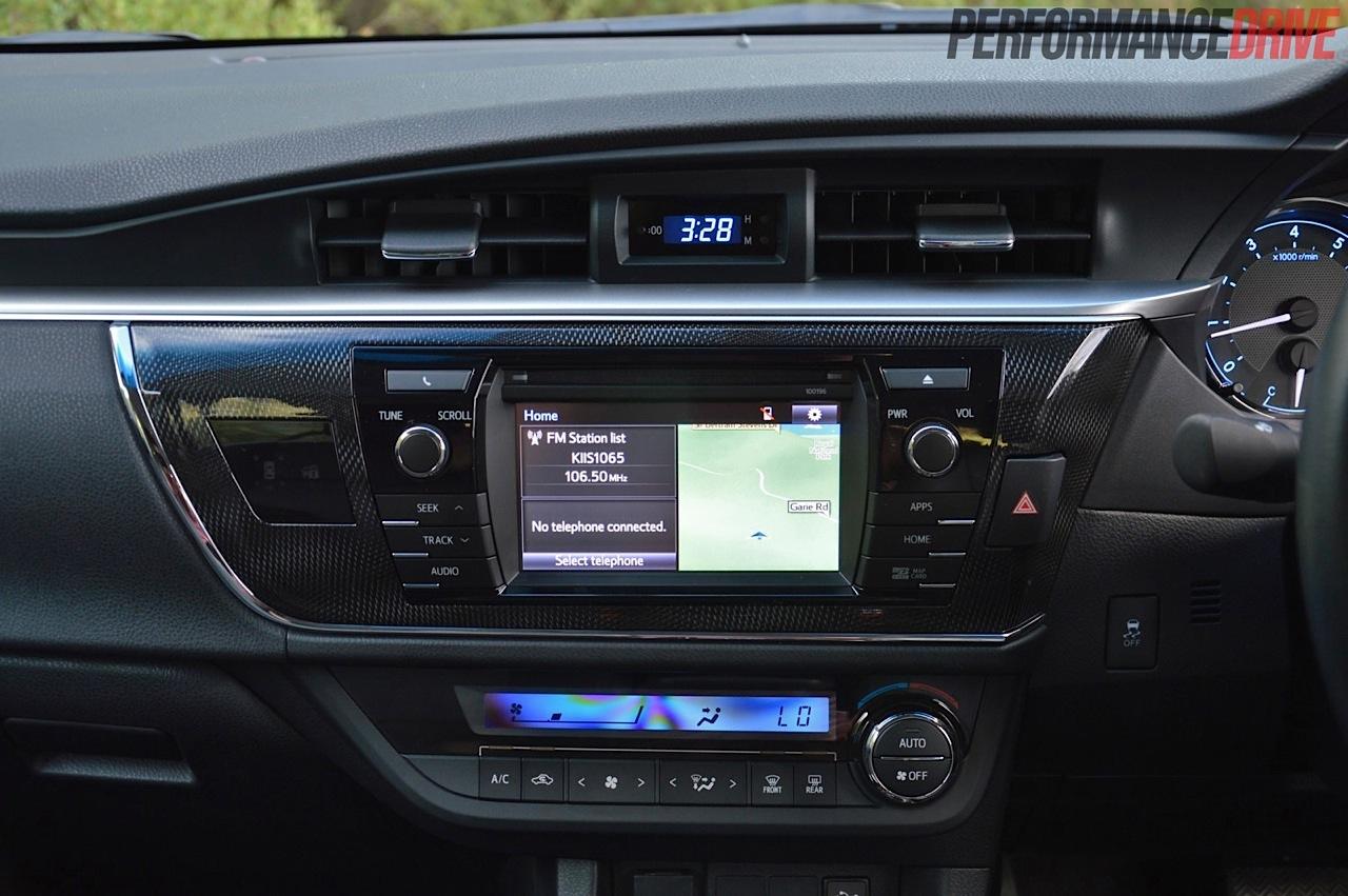 Toyota Corolla Zr Sedan Sat Nav
