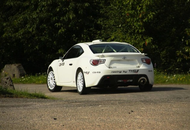 2014 Toyota GT 86 CS-R3-rear
