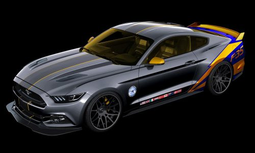 2015 Ford Mustang 'Lockheed Martin F-35' built for charity