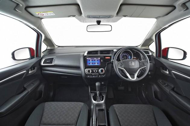 2015 Honda Jazz VTi-interior