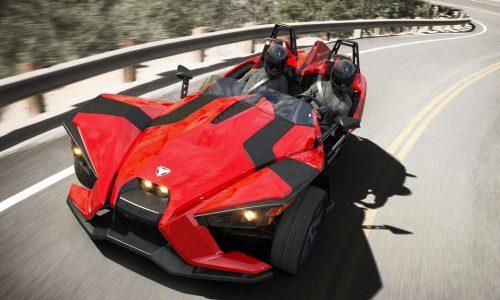 Polaris Slingshot revealed, lightweight three-wheeler