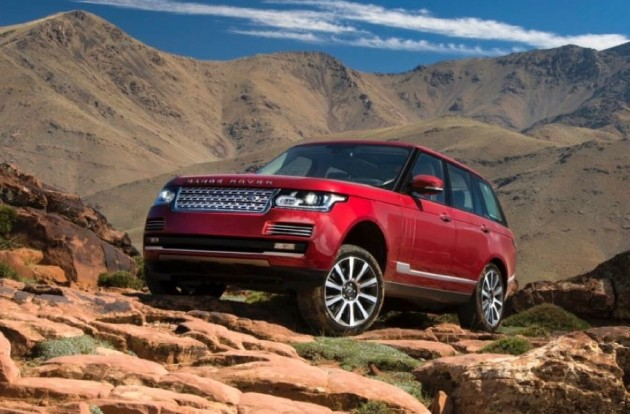 2015 Range Rover-red
