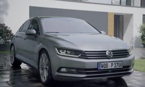 First video of the all-new 2015 Volkswagen Passat