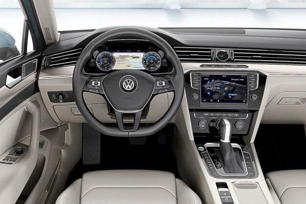 2015 Volkswagen Passat-interior