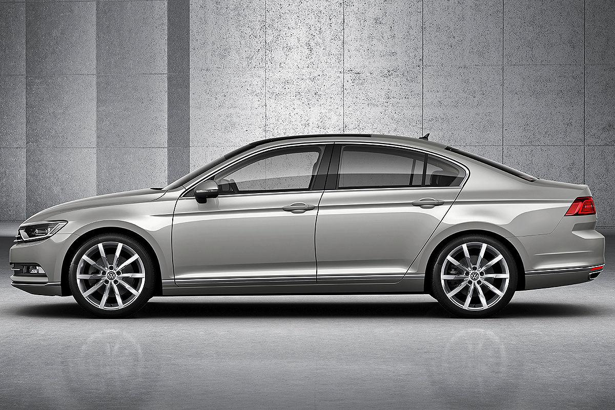 2015 Volkswagen Passat Revealed Performancedrive