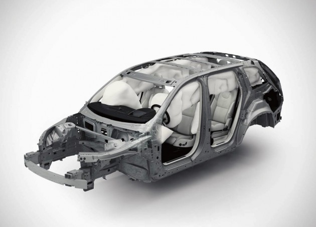 2015 Volvo XC90-roll over curtains