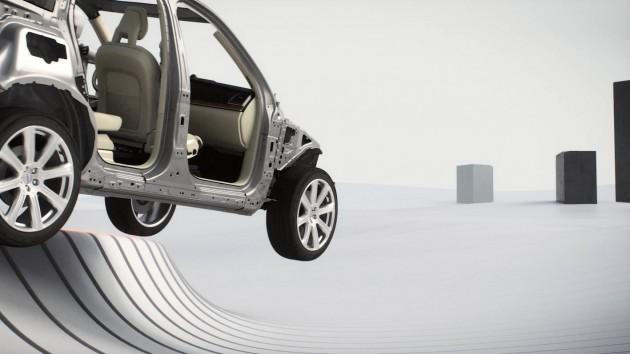 2015 Volvo XC90 run-off road tech