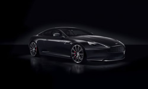 Aston Martin DB9 Carbon Edition, Japan only