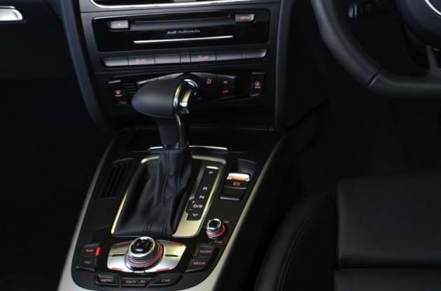 Audi A4 CVT transmission