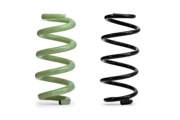 Audi fibreglass-reinforced springs