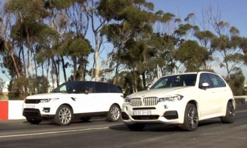 Race: BMW X5 M50d vs Range Rover Sport V8