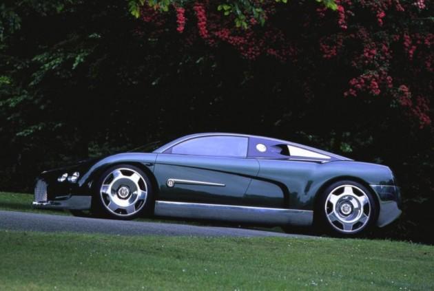 Bentley Hunaudieres concept