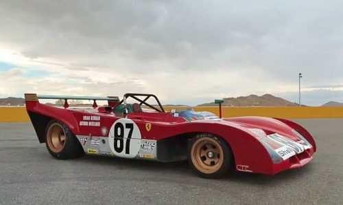 1972 Ferrari 312PB sounds incredible