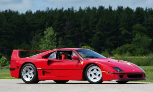 For Sale: 1987 Ferrari F40 owned by Rod Stewart