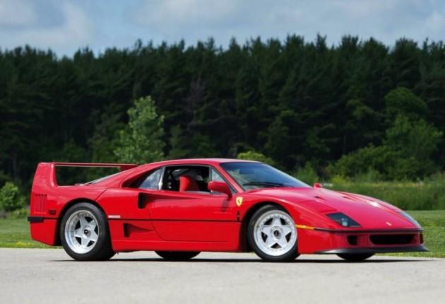 Ferrari F40 owned by Rod Stewart