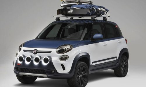 Fiat 500L Vans concept debuts at US Open of Surfing