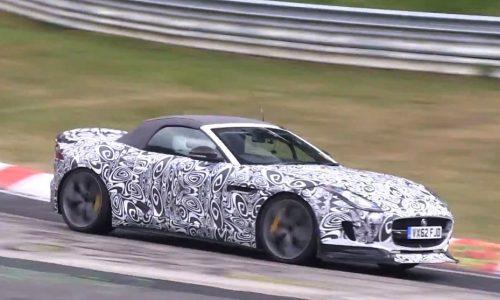 Video: Jaguar F-Type 'RS' spotted at Nurburgring