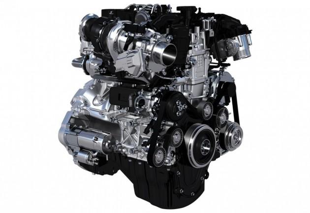 Jaguar Land Rover Inenium engine family