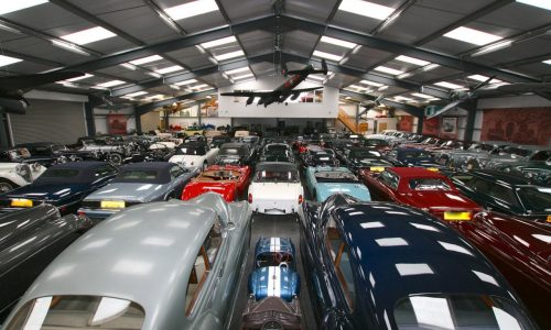 Jaguar buys biggest collection of British classics in the world