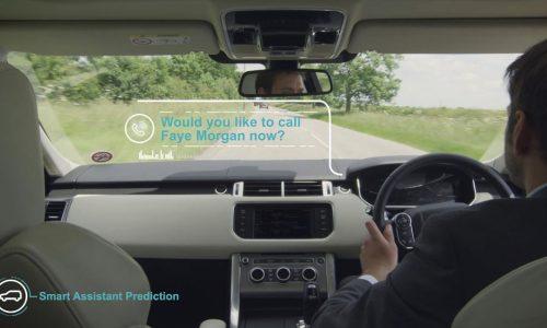 Jaguar Land Rover develops self-learning Smart Assistant (video)
