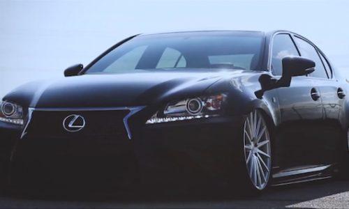 Lexus GS 350 F Sport looks boss on Vossen VFS-2 wheels